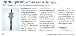 Device MED - Article Ercé 09_2105